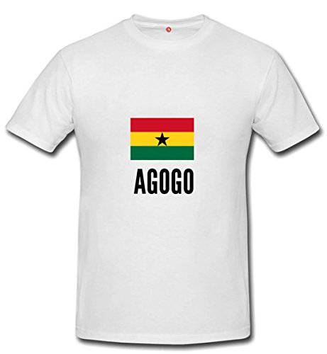 t-shirt AGOGO CITY white