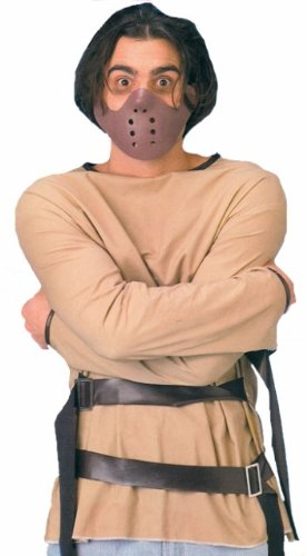 Hannibal Lecter Costume (Hannibal Lecter Straight Jacket/Mask Fancy Dress Costume)
