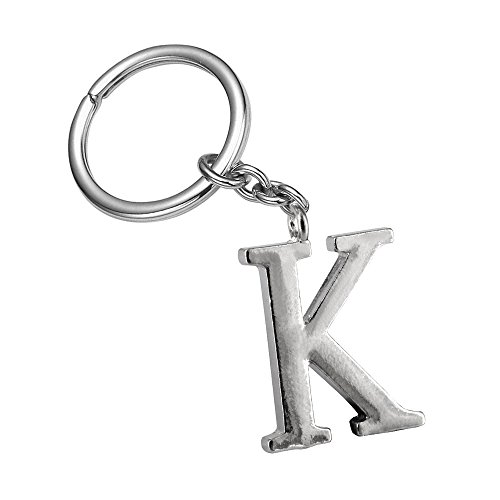 Adorable letter A keychain