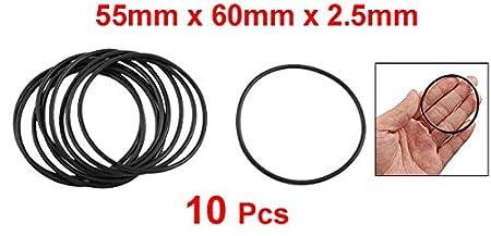 2.4mm Width Round Seal Gasket sourcingmap O-Rings Nitrile Rubber Pack of 50 15.2mm Inner Diameter 20mm OD