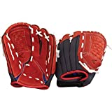 Easton Youth Z-Flex ZFX 1101 Ball Glove (11-Inch), Red/Black, Right Hand Throw