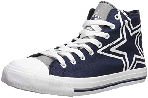 179031ab25832a FOCO NFL Mens High Top Big Logo Canvas Shoe - Mens