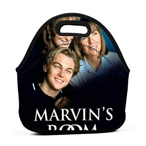 TheresTaalaMaria Marvin's Room Portable Bento Picnic Bagsclassic Handbag Pouch For Women Men Kids Girls