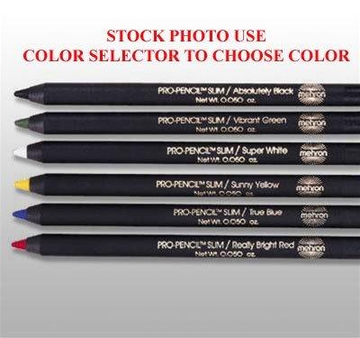 114 (Slim, Noir) Crème Mehron les crayons Pro