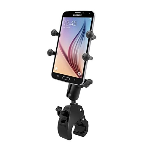 Large Tough Claw Handlebar X-Grip Mount Holder Kit fits Cell Phones Smartphones
