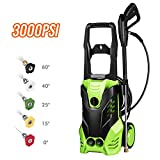 Flagup MEDITOOL 3000 PSI Electric Pressure Washer, High Pressure Washer, Professional Washer Cleaner