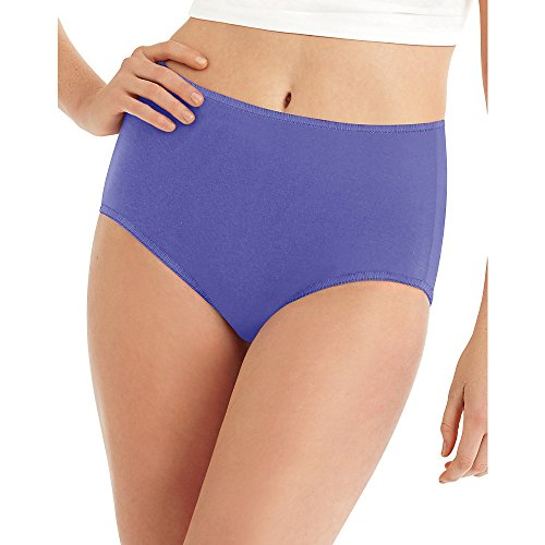 Hanes Women's 8 Pack Microfiber Brief, Assorted, (Microfiber Spandex Panties)