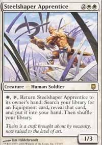 Magic: the Gathering - Steelshaper Apprentice - Darksteel - Foil by Magic: the (Apprentice Foil)