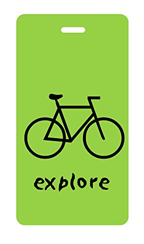 - Luggage Tag - explore - bicycle