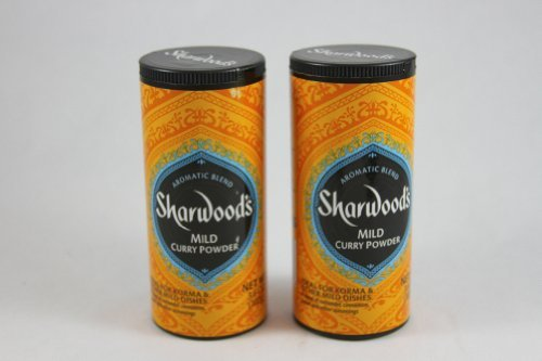 - Sharwood's Mild Curry Powder, 3.6 oz (102g), Pack of 2
