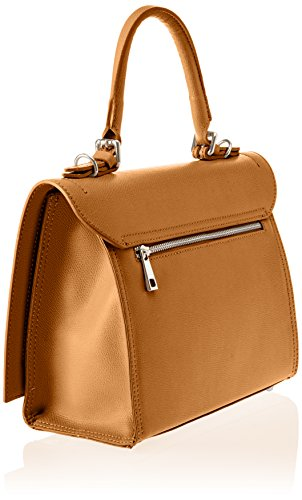 8645 Tan Marron Borse sac Chicca Tan bandoulière 6x5P5q