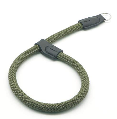 Wrist Strap Slr - HITHUT Quick Release Camera Hand Strap Wrist Strap for SLR DSLR Digital Mirrorless Cameras Adjustable Climbing Rope Green