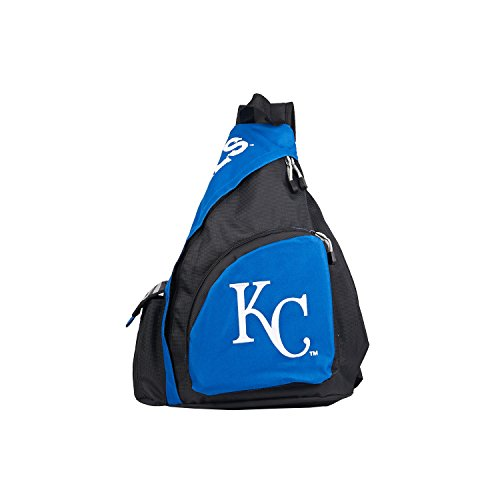 The Northwest Company MLB Kansas City Royals Leadoff Sling Backpack, 20-Inch, Royal