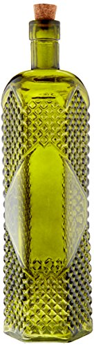 Darice 5913-507 Glass Bottles Assorted Vintage with Cork High, 12