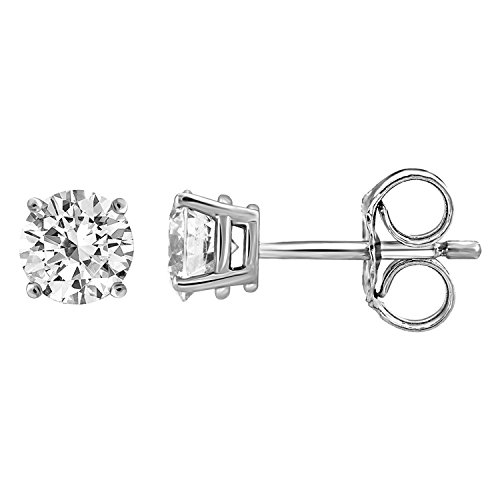 IGI Certified Diamond Stud Ear