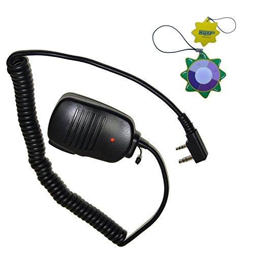 Speaker Mic for Kenwood TK-2118, TK-2130, TK-2131, TK-2160 + HQRP UV Meter ()