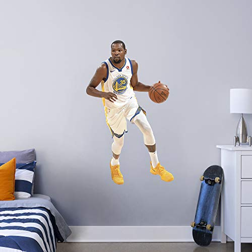 Kevin Durant Party Supplies (Fathead NBA Golden State Warriors Kevin Durant Kevin Durant- Officially Licensed Removable Wall Decal, Multicolor, Giant -)