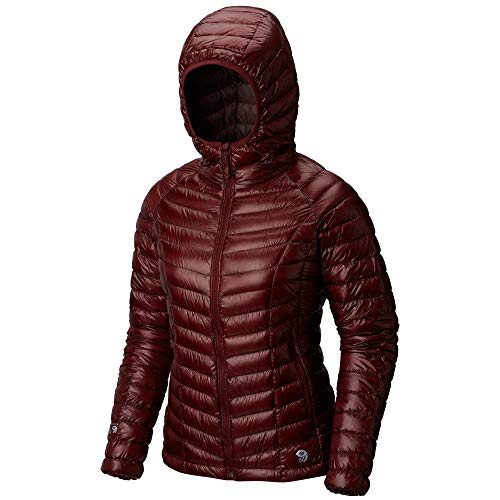 Mountain Hardwear Womens Ghost Whisperer Insulated Down Water Repellant Jacket with Hood - Smith Rock - ()