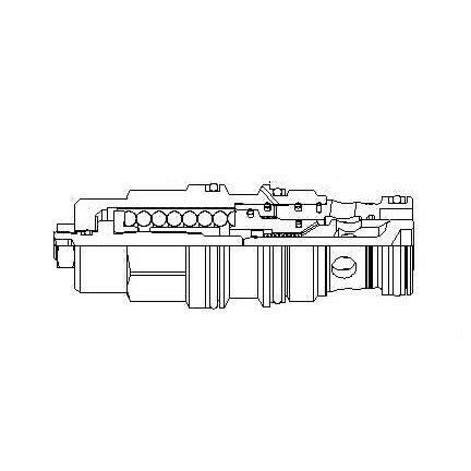 CBGH-LJN - Standard counterbalance valve, T-17A