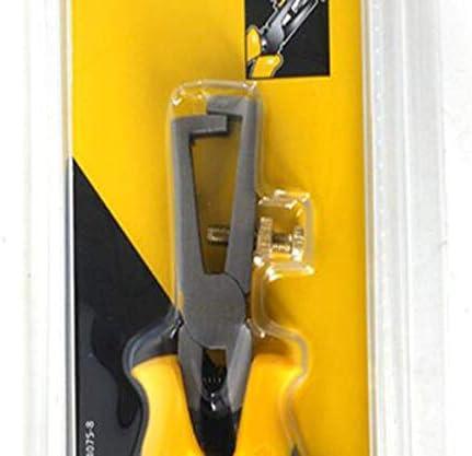SSY-YU 家の修理に適した、すなわち屋外産業メンテナンス6インチ多機能ストリッププライヤーセット、黄黒(カラー:イエローブラック、サイズ:6インチ) ペンチ 切断工具