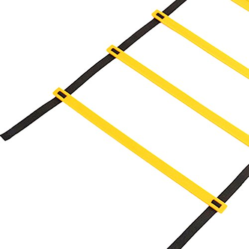 Agility Training Ladder,7 Meters 13 Knots Durable Speed Training Ladders for Soccer,Football and Boxing With Nylon Carrying Bag