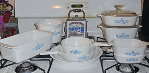 Corning Ware Cornflower Blue 11 Piece Cook, Serve and Store Set (Cooks Store compare prices)