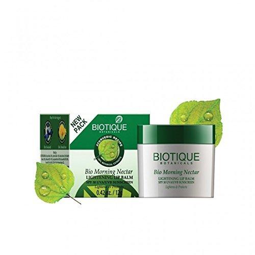 Biotique Bio Morning Nectar Lightening Lip Balm Spf 30 Uva/Uvb Sunscreen 12Gm