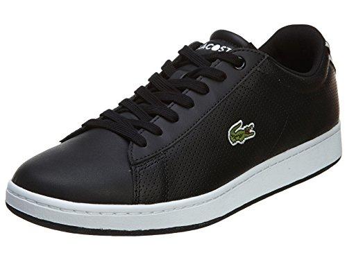 Lacoste Men's Carnaby Evo NTE Black/Blue Sneaker 7.5 M