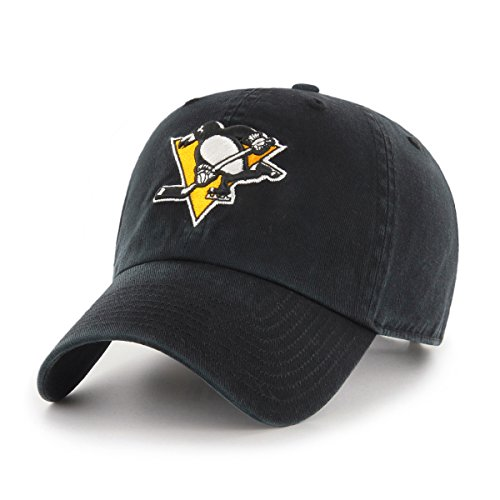 NHL Pittsburgh Penguins OTS Challenger Adjustable Hat, Black, One Size ()