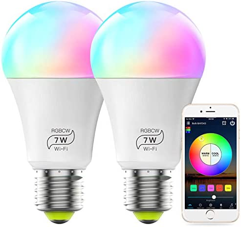 MagicLight Smart Alexa Compatible Light Bulb No Hub Required