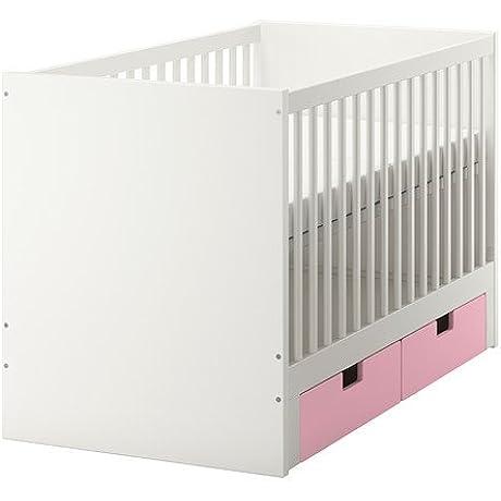 Ikea Crib With Drawers Pink 202020 82614 1838