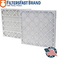 FiltersFast Compatible Replacement for Trion Air Bear Comp. Furnace Filter M13 20 x 25 x 5 2-Pack MERV 13 - Actual Size 19-5/8 x 24-1/8 x 4-7/8
