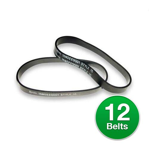 Royal Dirt Devil Belt, Style 15 Dynamite Flat (12 Belts)