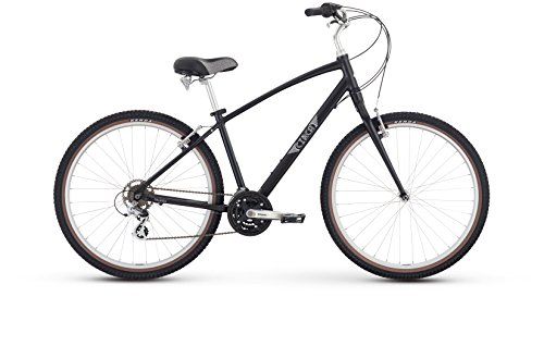 Raleigh Bikes Circa 2 Comfort Bike, 15″/Small, Black For Sale