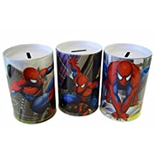 Marvel Comics Spiderman Assorted Design Spiderman Coin Tin - Spiderman Coin Bank
