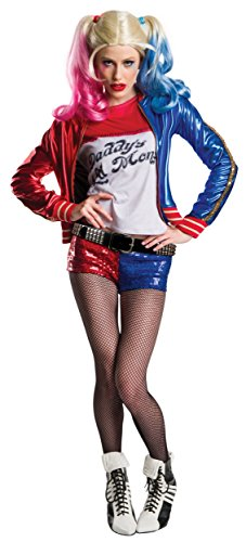 Charades Women's Suicide Squad Harley Quinn Costume, As Shown, Small ()