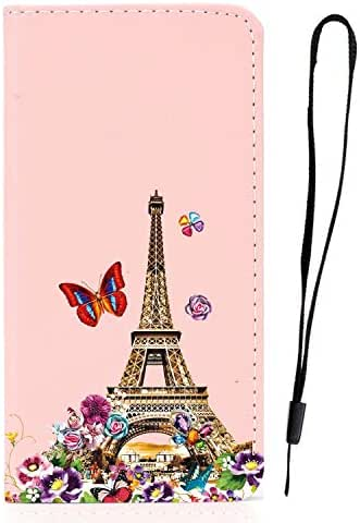 iPhone 11 Pro Case, Shockproof Premium PU Leather Flip Slim Fit Phone Case Notebook Wallet Cover with Card Slot ID Slot Magnetic Stand TPU Bumper Protective Skin Case for iPhone 11 Pro Tower
