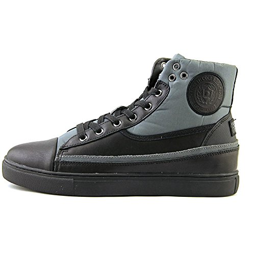 Fashion Ankle Sneaker Leather High Kenneth Zo Men's Cole Black Done 0nCqx47w