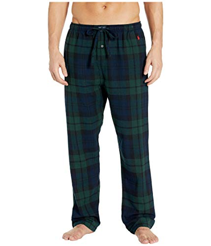 POLO RALPH LAUREN Flannel Pajama Pants Blackwatch Tartan LG