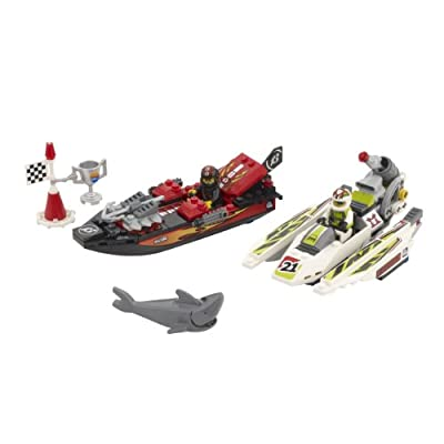 LEGO World Racers Jagged Jaws Reef 8897: Toys & Games