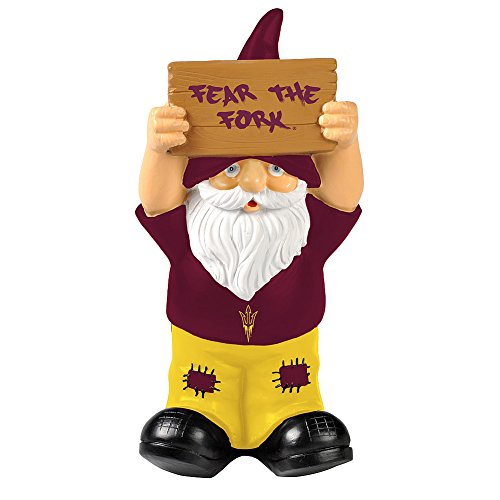 Elite Fan Shop Arizona State Sun Devils Garden Gnome - Maroon
