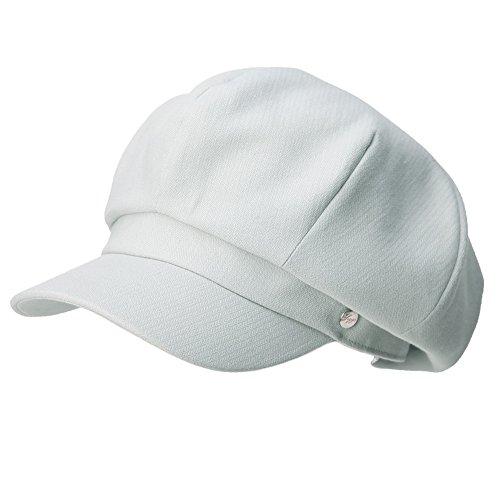 Siggi Womens 100% Cotton Newsboy Cabbie Cap Visor Hat Painter Caps for Lady LightGray