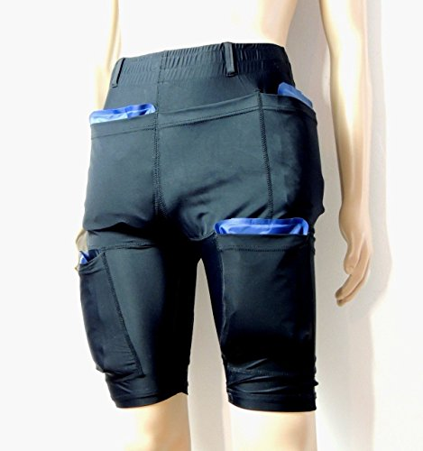 Burn Fat with Cold - Powerful Sliming Cooling Shorts 4800G - Size L - Ice Packs Not Included