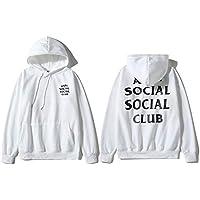 Anti Social Social Club Classic Hoodie Assc Ins Hot Unisex Hooded Sweatshirt For Men And Women