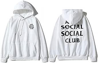Anti Social Social Club Round Neck Hoodies For Unisex