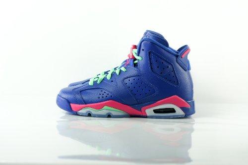 para GG de Retro Nike Niñas Purple Running 6 Air Jordan Zapatillas x6p4ZH