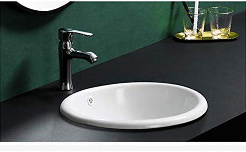 洗面台,手洗い器 壁付け型 陶器 洗面ボール 手洗い器 壁付け型 手洗い鉢 ガラス 手洗い鉢 おしゃれ 洗面ボ 手洗器 楕円形 洗面台 省スペ 室外 ミニ型 (Size : E)