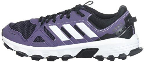 adidas Women's Rockadia w Trail Running Shoe, Trace Purple/White/Core Black, 8 M US by adidas (Image #5)
