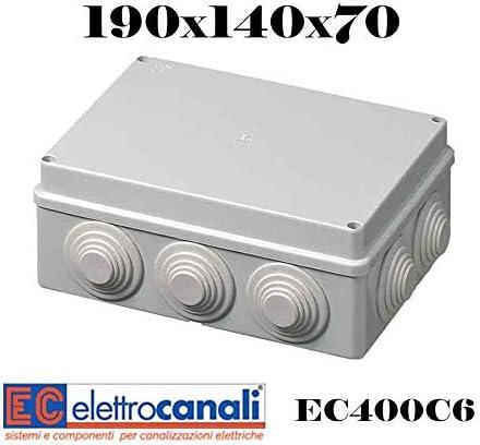 EFI EC400C6 Cassetta di Derivazione con Passacavi Grigio
