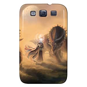 New Style Perfect For Galaxy S3 Cover Case Brown NioXV1LGIHS